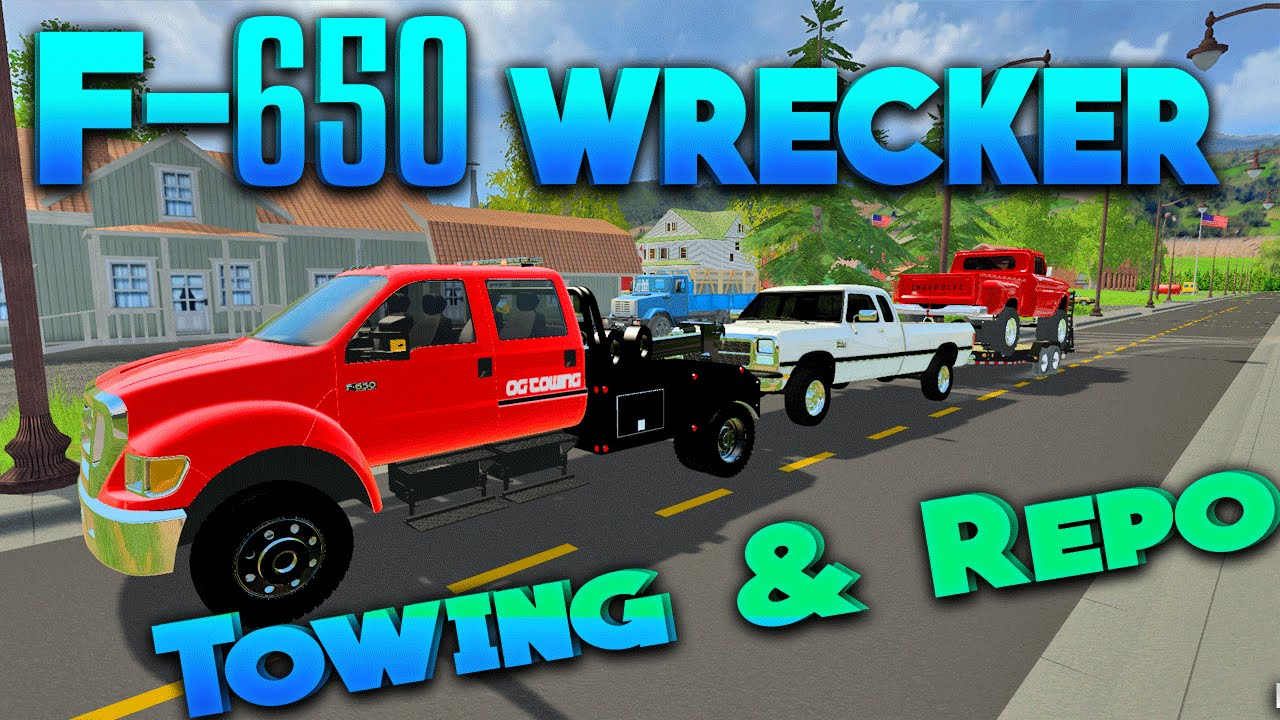 Tow Truck Mods For Fs19 | 2019 Trucks