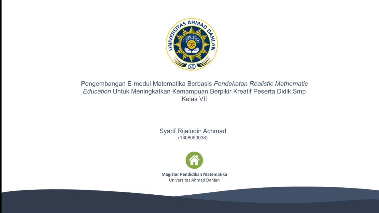 Dissertation proposal seminar