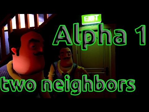 Hello Neighbor Alpha 1 снова два соседа thumbnail