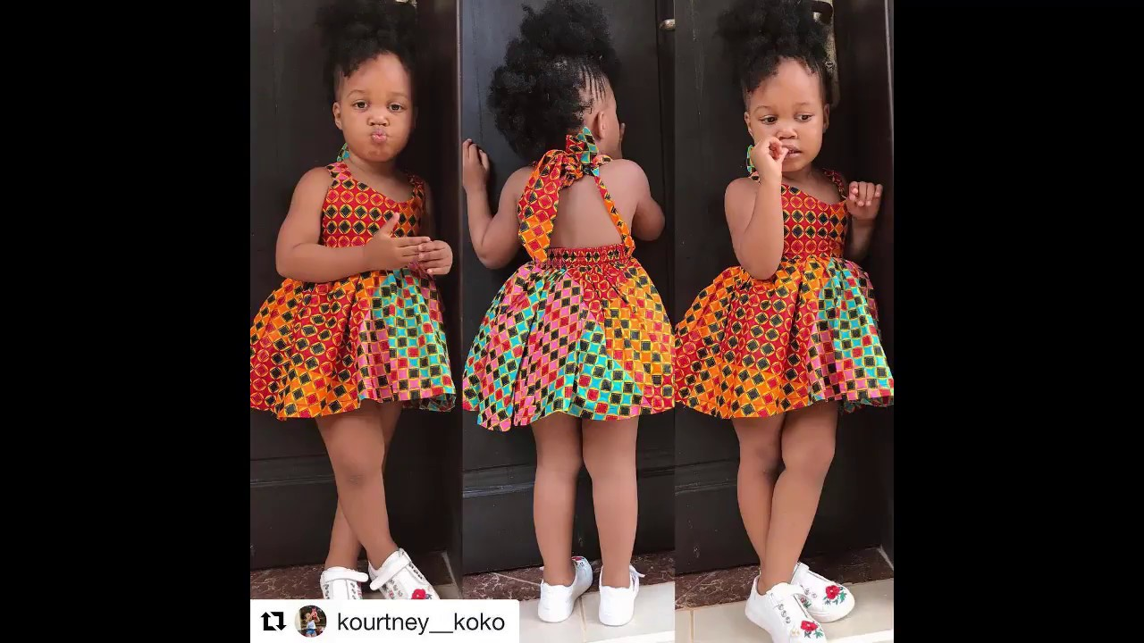 48a7705163fb9 40+ Fresh & Appealing Ankara Styles : look cute as a baby in These African  Print Dresses