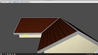 ArCADia Architektura - Obróbki blacharskie dachu (bez gąsiorów)