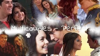 Multicouples- Disney Channel (movies and series)