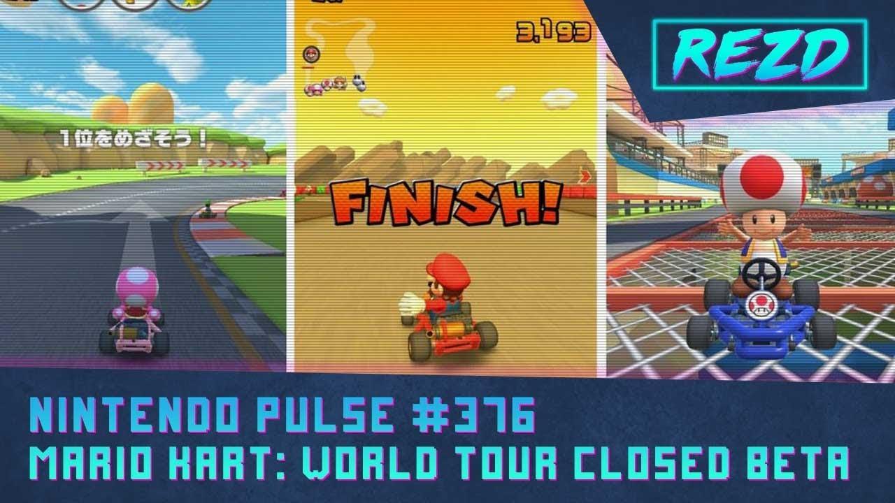 Nintendo Pulse 376 Mario Kart Tour Youtube