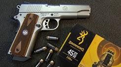 Ruger SR-1911  Ass Kickin' .45 Auto Commander Pistol