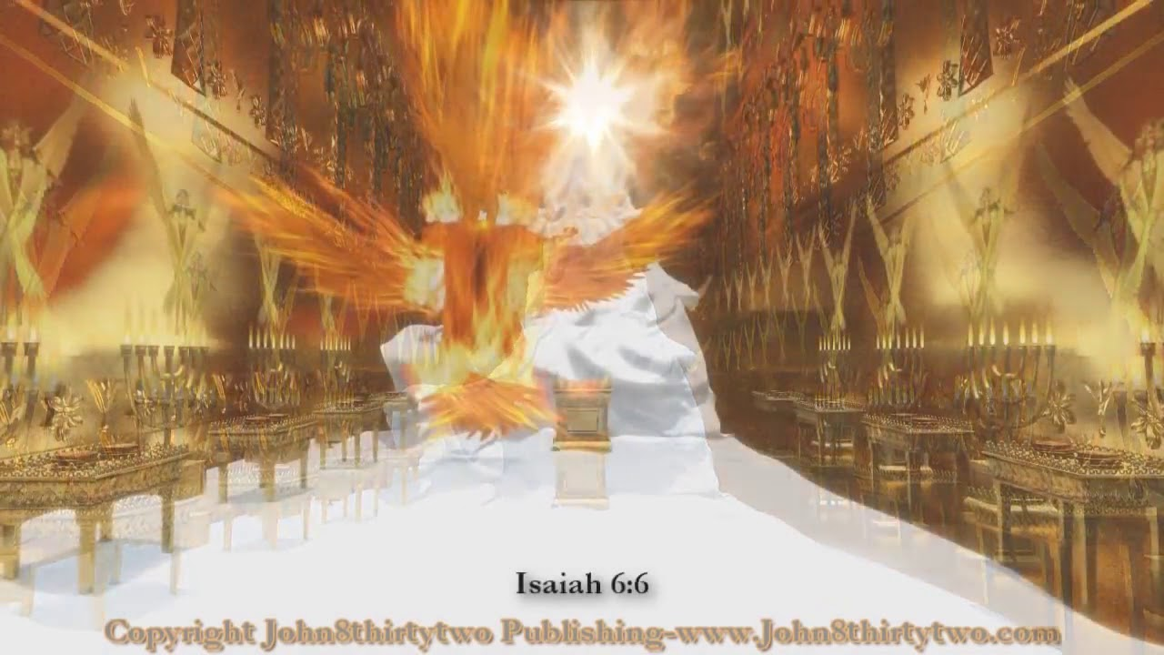 Isaiah S Vision Of The Throne Room
