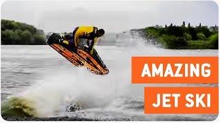 Jet Skier Performs Insane Tricks