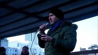 Anti-#ACTA-Protest Frankfurt/Main 11.02.12 - Rede von André De Stefano (Piratenpartei)