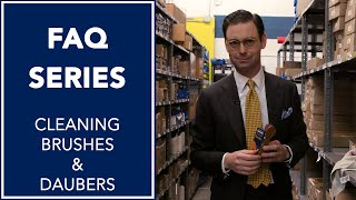 Cleaning your Brushes and Daubers | FAQ | Kirby Allison