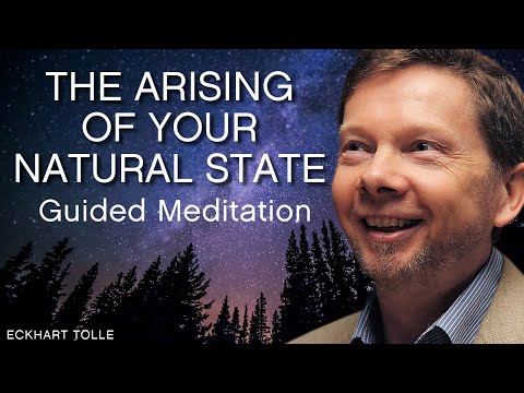Eckhart Tolle Guided Meditation: The Arising of Your Natural State