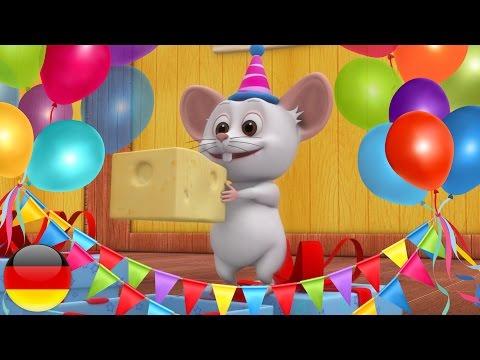 Geburtstagslied | Kinderlieder auf Deutsch | Vorschulische Lieder | Kleinkind Musik | Baby reimt