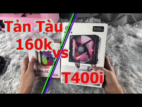 Tản CHINA ăn đút T400i huyền thoại ??? | buildpcngu |