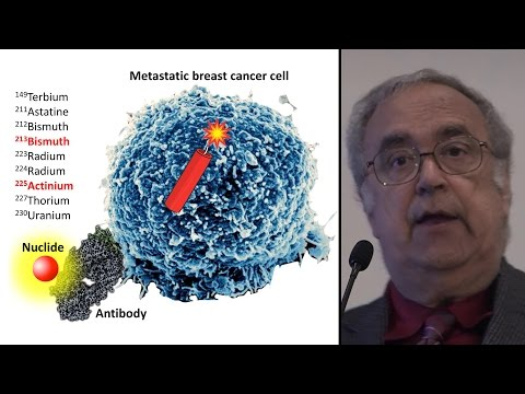 Treating Cancer with Targeted Alpha Therapy - by Dr. Julian Rosenman