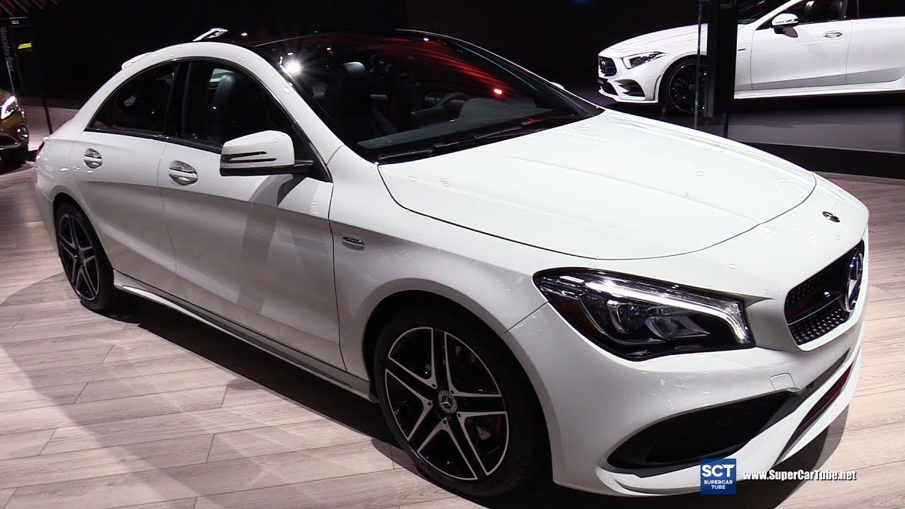 2018 Mercedes Benz Cla Cl 250 4matic Exterior And Interior Walkaround 2017 La Auto Show