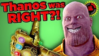 Film Theory: Thanos Was RIGHT!! (Avengers Infinity War) thumbnail