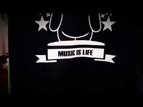 MUSIC IS LIFE  T-Shirt [ THE MERCH SHOP ]