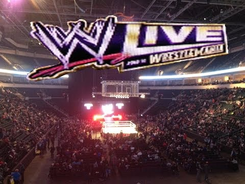 WWE Live Event - Road To WrestleMania Tour - Winnipeg March 7th 2014 - (MTS Centre)