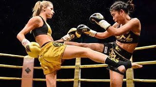 Female Muay Thai | Christina Jurjevic vs Prai Jombeung