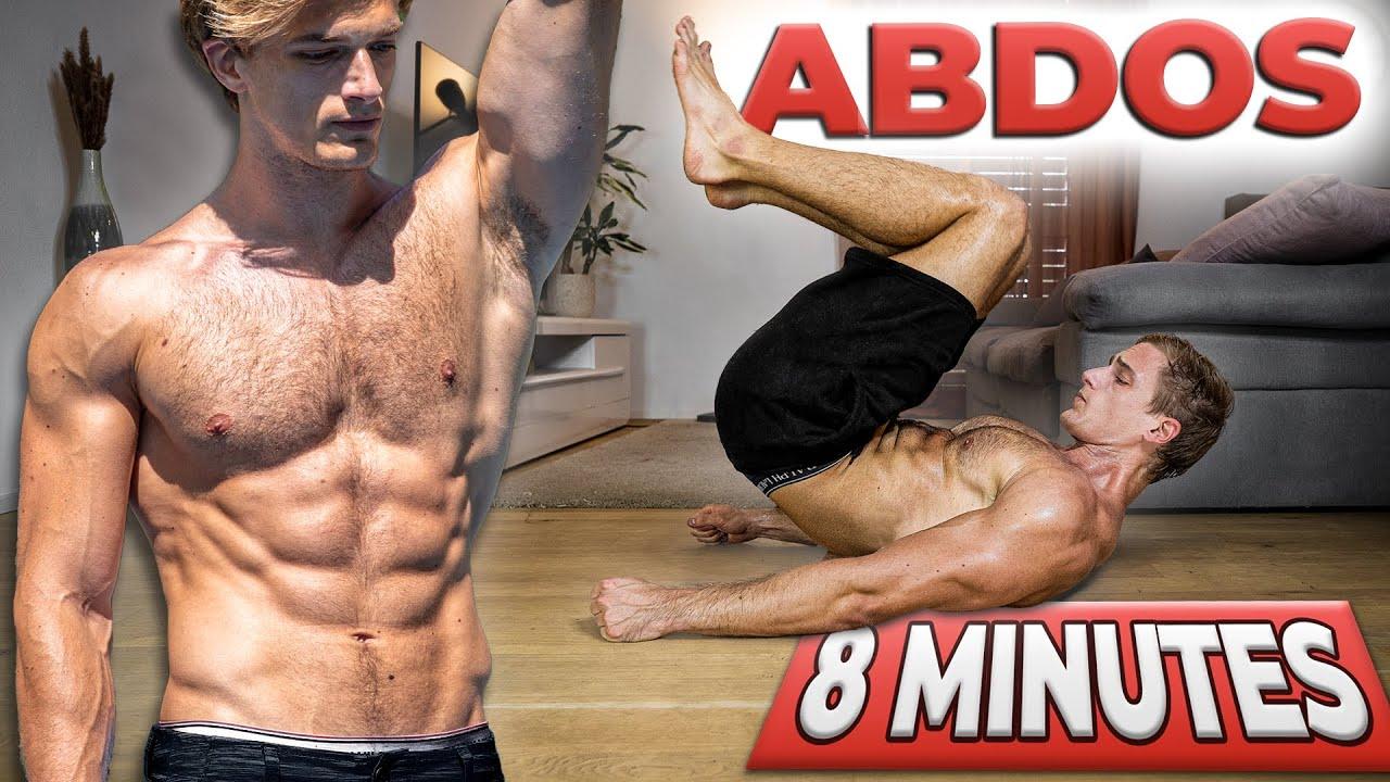 ABDOS & OBLIQUES en 8 Minutes à la Maison ! 🔥 (Programme)