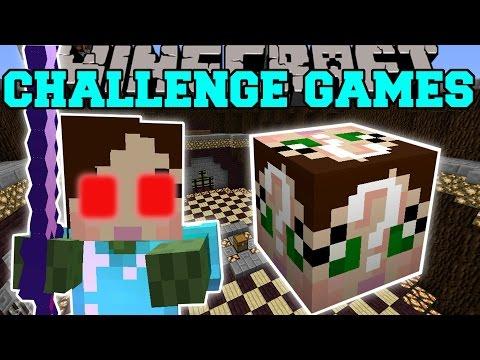 Minecraft: EVIL JEN CHALLENGE GAMES - Lucky Block Mod - Modded Mini-Game - Видео из Майнкрафт (Minecraft)