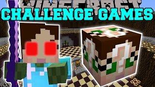 Minecraft: EVIL JEN CHALLENGE GAMES - Lucky Block Mod - Modded Mini-Game