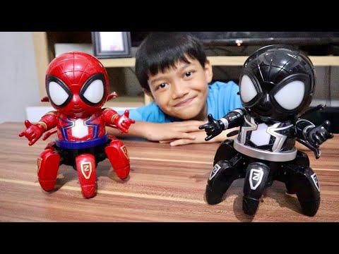 larics-&-robot-octo-remix-spidermen-keren-abissss-!!!