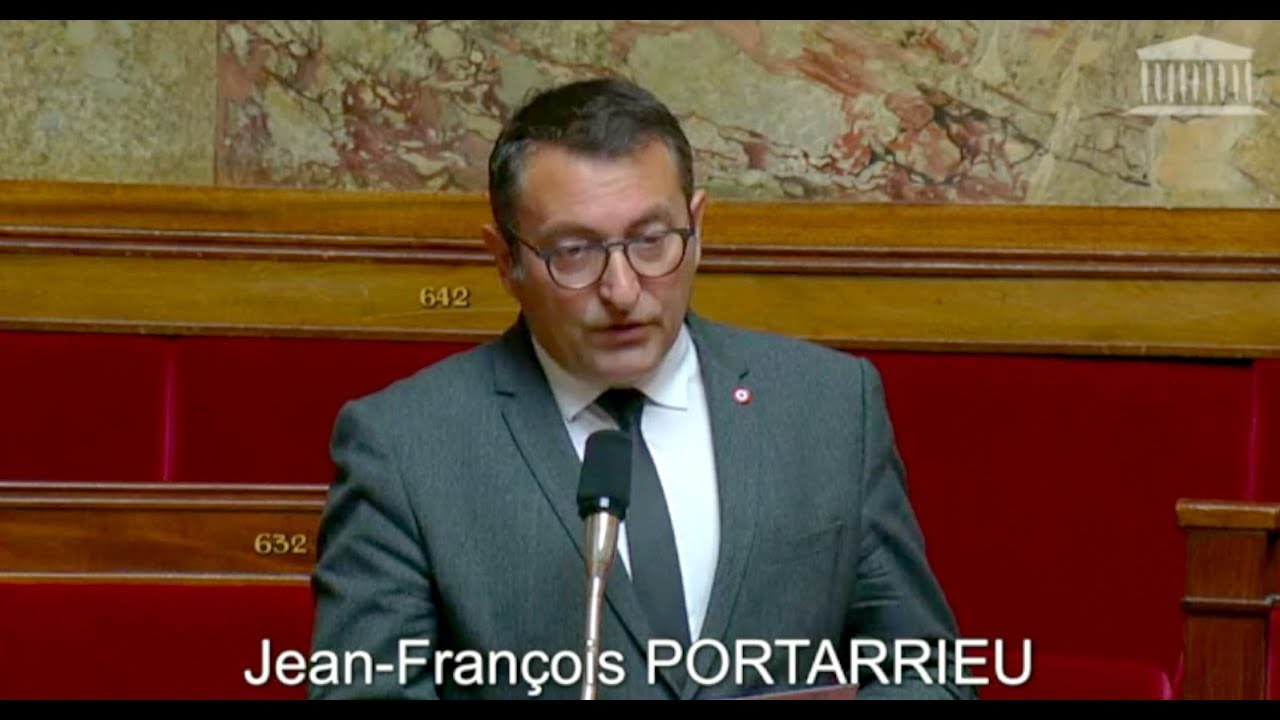 JEAN-FRANCOIS PORTARRIEU - Question Orale Sans Débat - 12 06 2018