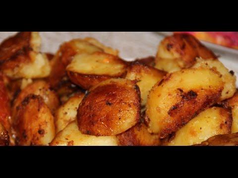 Вкусный картофель в духовке рецепт с фото