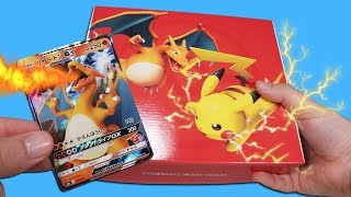 Opening a Charizard Super Family Card Box!