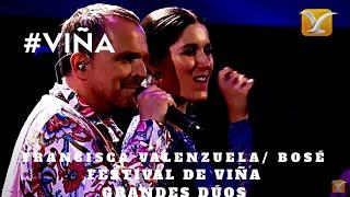 GRANDES DÚOS: MIGUEL BOSÉ / FRANCISCA VALENZUELA - Morena Mía - Festival de Viña Del Mar