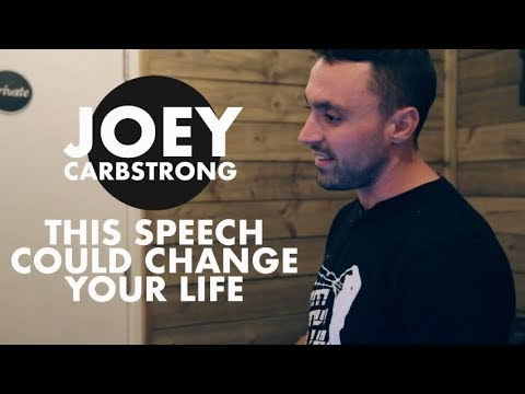Joey Carbstrong Speech - Vegan Activism  | Torquay 2017