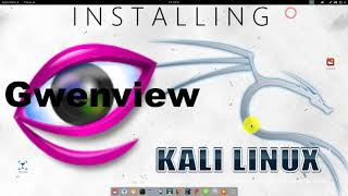 How to install Gwenview KDE image viewer on Kali Linux