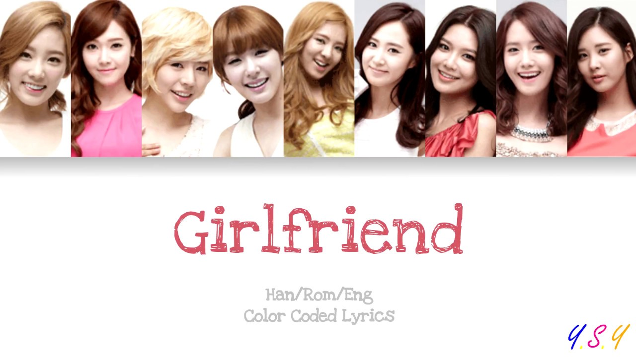 Girls\' Generation – Girlfriend