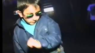Russian kid dancing  at club can