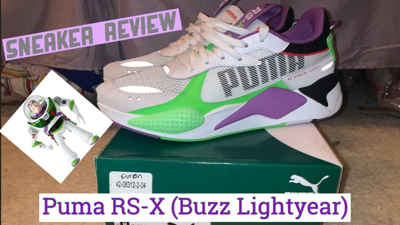 "VLOGMAS 2019 🎄 | DAY 15 PUMA RS-X ""BUZZ"