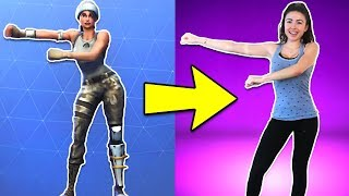 One of Samara Redway's most viewed videos: FORTNITE DANCES IN REAL LIFE!!