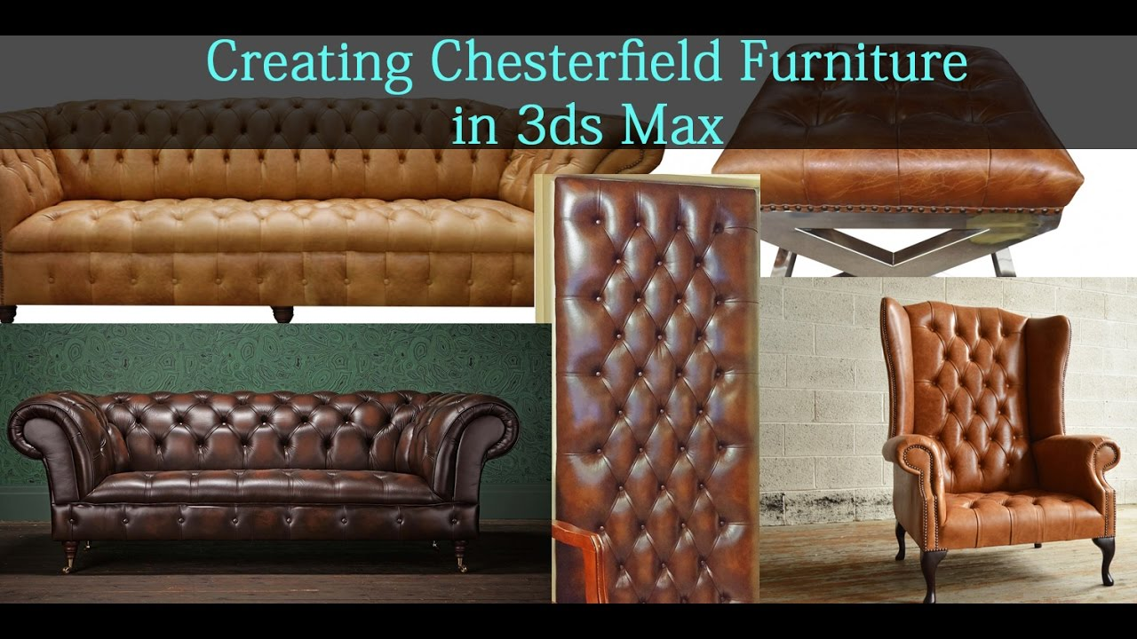 Modeling Chesterfield Furniture In 3ds Max YouTube