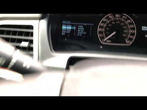 2012 Lincoln MKZ Hybrid - Oil Life Reset
