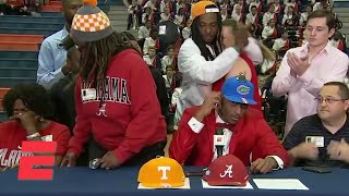 Mom walks out after 5th-ranked wideout Jacob Copeland commits to Florida | ESPN