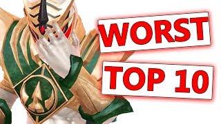 TOP 10 WORST Power Rangers | Power Rangers: Legacy Wars