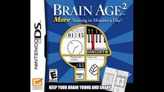 Brain Age 2: More Training in Minutes a Day! - Menu