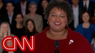 Stacey Abrams rips Trump in Democratic response to the State of the Union address