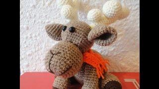Різдвяний ОЛЕНЬ ГОД-1 Christmas deer P-1 Crochet