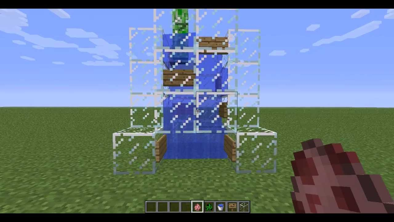Minecraft Fast Tutorials Ascenseur à Eau Minecraft Fr Youtube