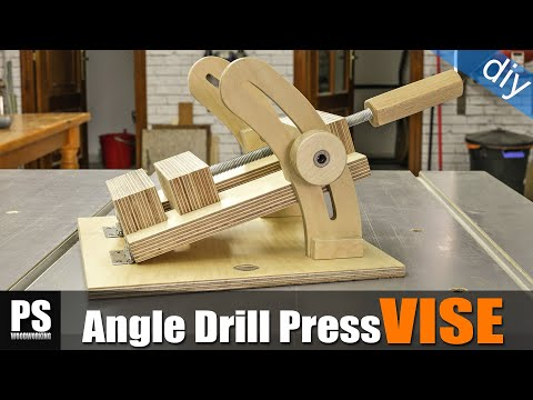Homemade Angle Drill Press Vise
