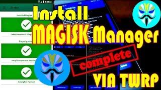 Tutorial Root MIUI 8 / 9 MAGISK Manager