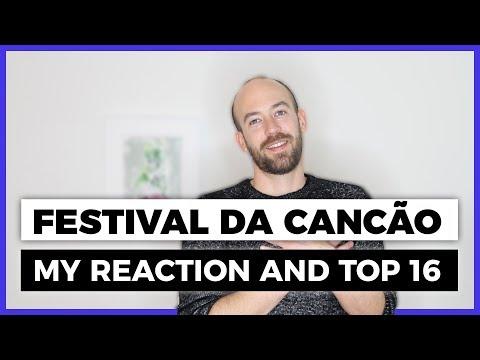 Festival da Cancão 2019 (Portugal) (My Reaction and top 16) – Eurovision 2019