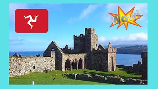 Isle of MAN: Exploring the ancient Viking Castle 🏰 in Peel