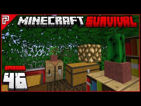 Bedroom & Map Wall!   Minecraft 1.11 PC   Python Plays Minecraft Survival [S2 - #46]