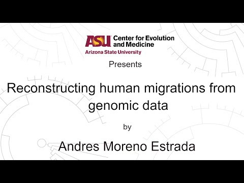 Reconstructing human migrations from genomic data | Andres M