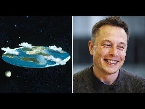 Elon Musk Destroys The 'Flat Earth Society' With A Single Question!!